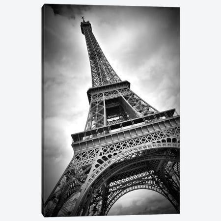 Eiffel Tower Dynamic Canvas Print #MEV42} by Melanie Viola Canvas Artwork