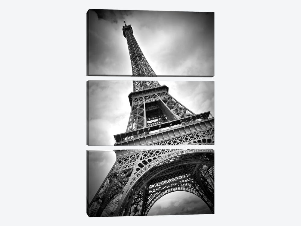 Eiffel Tower Dynamic by Melanie Viola 3-piece Canvas Artwork