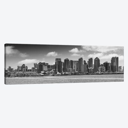 San Diego Skyline View From Harbor Island Canvas Print #MEV434} by Melanie Viola Canvas Art