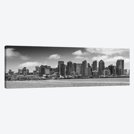 San Diego Skyline View From Harbor Island Canvas Print #MEV434} by Melanie Viola Canvas Art