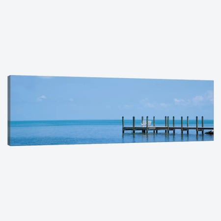 Florida Quiet Place | Panoramic View Canvas Print #MEV453} by Melanie Viola Art Print
