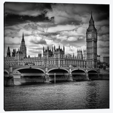 London Westminster Canvas Print #MEV467} by Melanie Viola Art Print