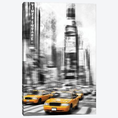 Modern Art Times Square Canvas Print #MEV471} by Melanie Viola Canvas Art Print