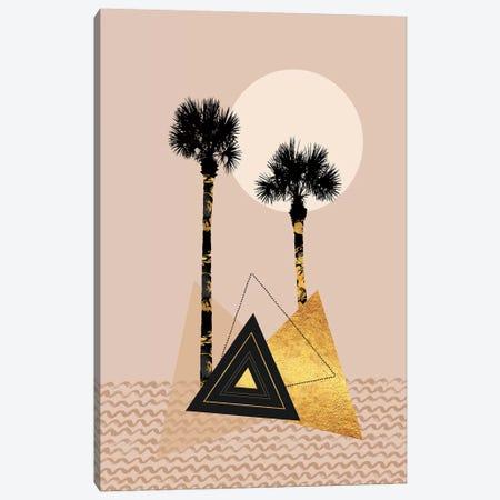 Little Palm Island Canvas Print #MEV479} by Melanie Viola Art Print
