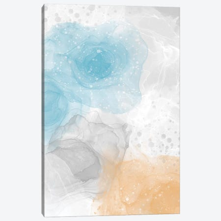Alcohol Ink & Paint No. 5 Canvas Print #MEV489} by Melanie Viola Canvas Artwork