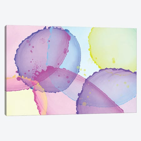 Alcohol Ink & Paint XIII Canvas Print #MEV512} by Melanie Viola Canvas Artwork