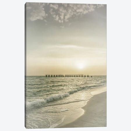 Gasparilla Island Sunset | Vintage Canvas Print #MEV531} by Melanie Viola Canvas Art