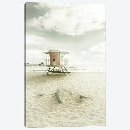 California Imperial Beach | Vintage Canvas Print #MEV532} by Melanie Viola Canvas Wall Art