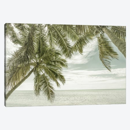 Florida Oceanview | Vintage Canvas Print #MEV538} by Melanie Viola Canvas Wall Art