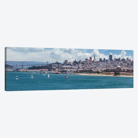 San Francisco Skyline Canvas Print #MEV549} by Melanie Viola Canvas Art Print
