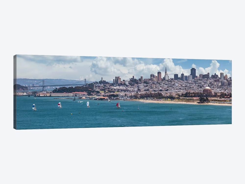 San Francisco Skyline by Melanie Viola 1-piece Art Print