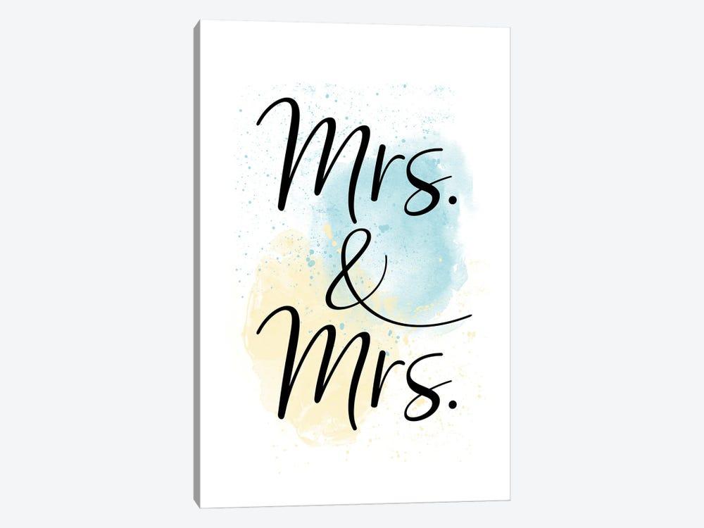 Mrs. & Mrs. by Melanie Viola 1-piece Canvas Art