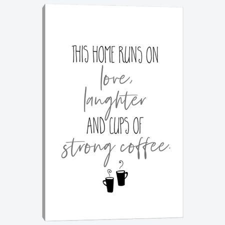 Strong Coffee I Canvas Print #MEV593} by Melanie Viola Canvas Artwork