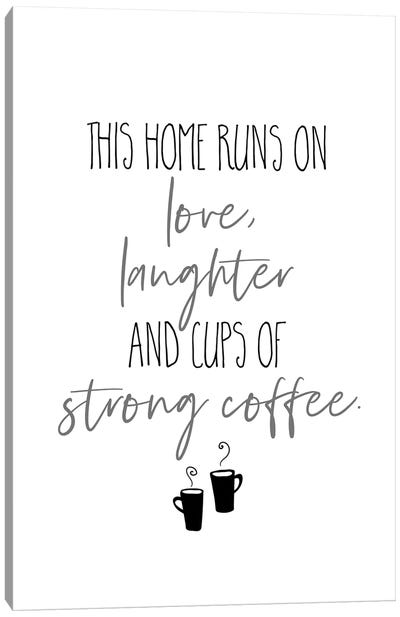 Strong Coffee I Canvas Art Print