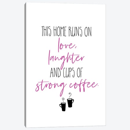 Strong Coffee II Canvas Print #MEV594} by Melanie Viola Art Print