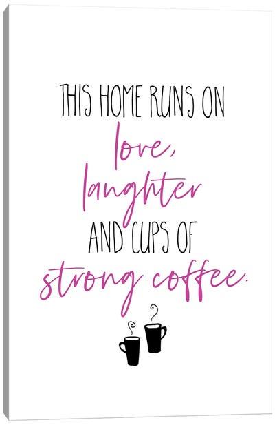 Strong Coffee II Canvas Art Print