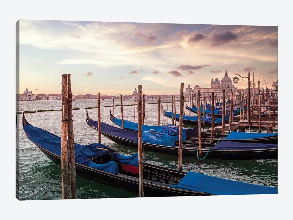 Venice Gondolas & Santa Maria Della Salute by Melanie Viola 1-piece Canvas Wall Art