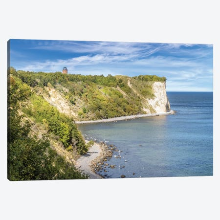 Baltic Sea Cape Arkona Canvas Print #MEV603} by Melanie Viola Canvas Wall Art