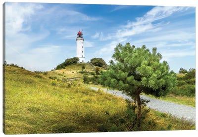 Baltic Sea Dornbusch Lighthouse Canvas Art Print