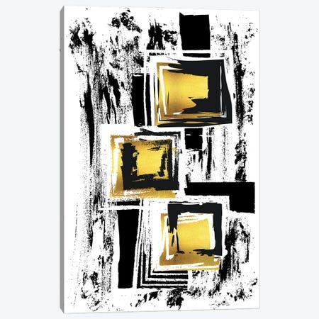 Abstract Painting XXXVI   Gold Canvas Print #MEV620} by Melanie Viola Canvas Wall Art