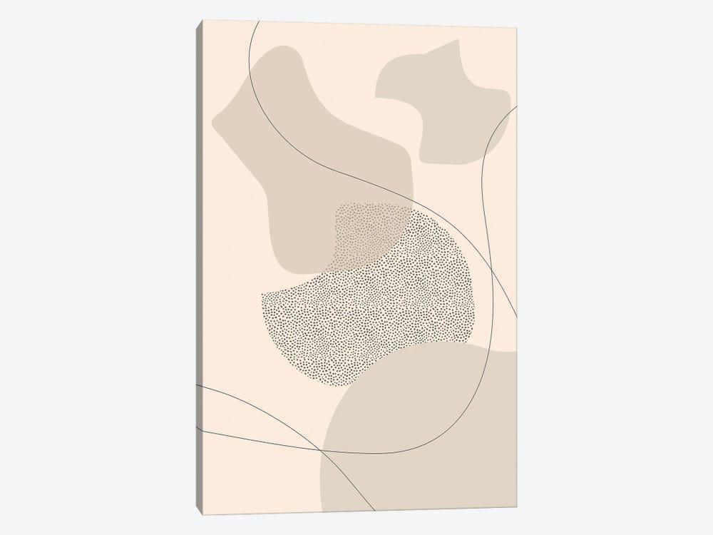 Mid-Century Modern II | Brown by Melanie Viola 1-piece Canvas Print