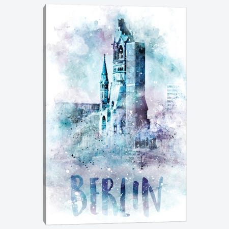 Modern Berlin Canvas Print #MEV62} by Melanie Viola Canvas Wall Art
