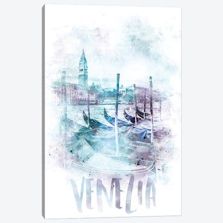 Modern Canal Grande  Canvas Print #MEV65} by Melanie Viola Art Print