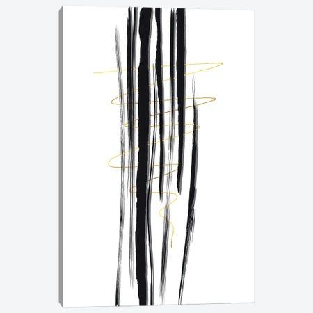 Deco Lines I - Straight Forward Canvas Print #MEV685} by Melanie Viola Art Print