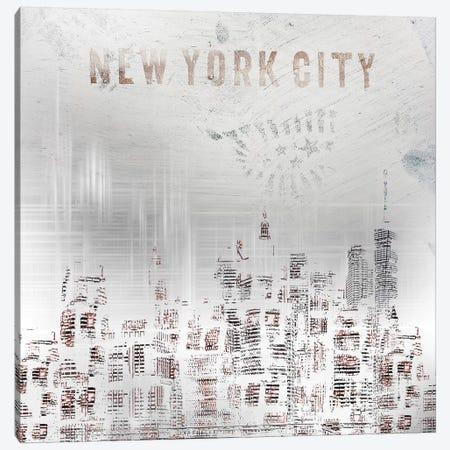Modern New York City Skylines Canvas Print #MEV69} by Melanie Viola Canvas Wall Art