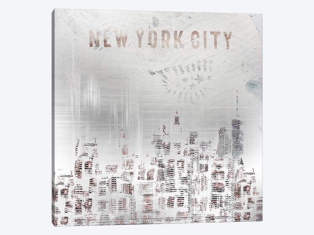 Modern New York City Skylines by Melanie Viola 1-piece Canvas Print