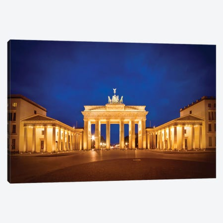 Berlin Brandenburg Gate Canvas Print #MEV6} by Melanie Viola Canvas Print