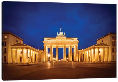 Berlin Brandenburg Gate Canvas Art Print