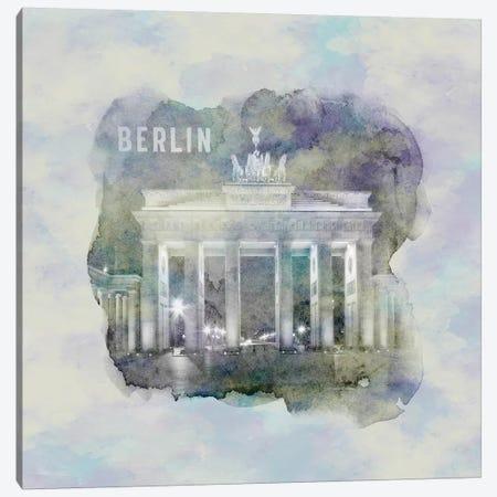Berlin Brandenburg Gate  Canvas Print #MEV7} by Melanie Viola Art Print