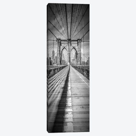 New York City Brooklyn Bridge Canvas Print #MEV85} by Melanie Viola Art Print
