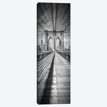 New York City Brooklyn Bridge Canvas Print #MEV85} by Melanie Viola Art Print
