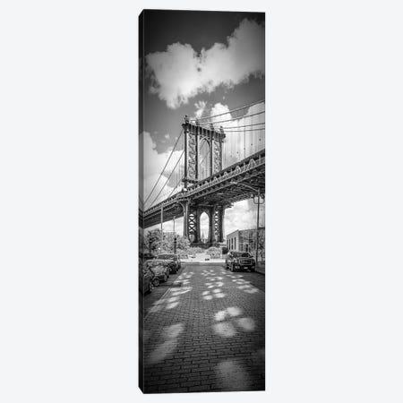 New York City Manhattan Bridge  Canvas Print #MEV88} by Melanie Viola Canvas Wall Art