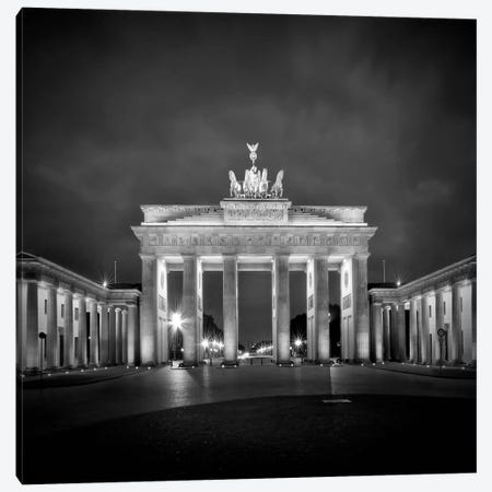 Berlin Brandenburg Gate  Canvas Print #MEV8} by Melanie Viola Canvas Art