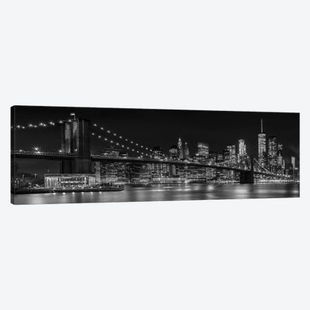 NYC Nightly Impressions Canvas Print #MEV92} by Melanie Viola Canvas Art Print