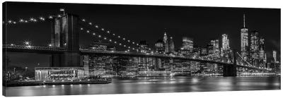 NYC Nightly Impressions Canvas Art Print