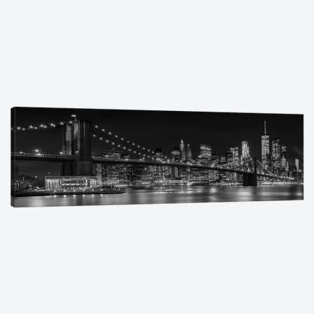 NYC Nightly Impressions 3-Piece Canvas #MEV92} by Melanie Viola Canvas Art Print