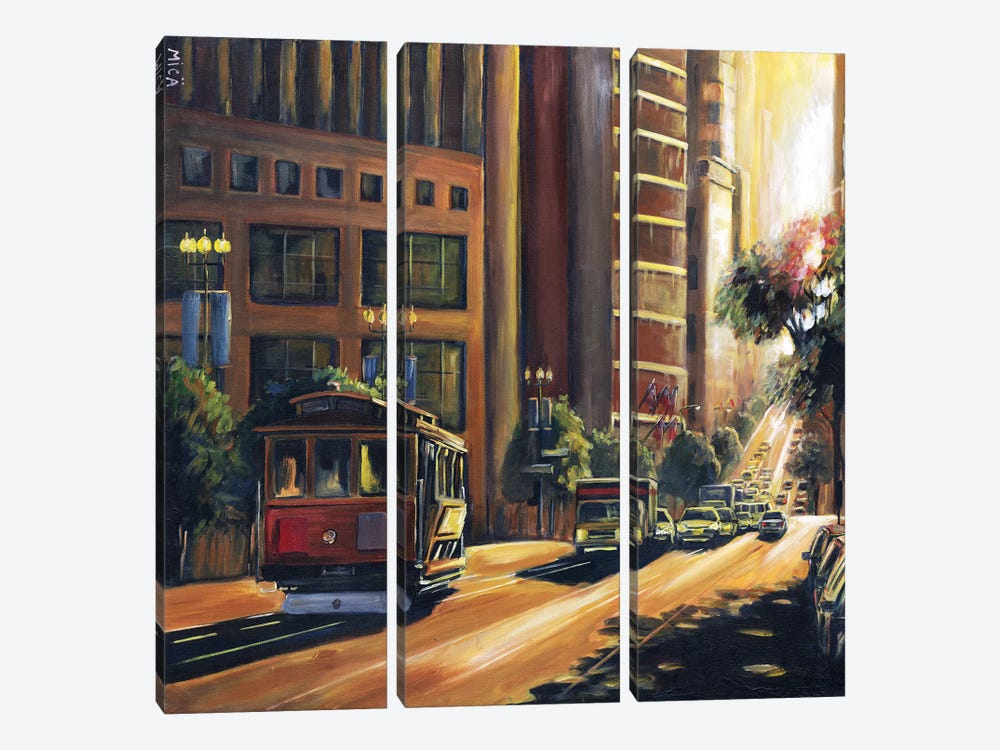 Ray of Light 3-piece Canvas Print