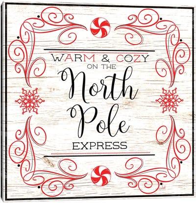 North Peppermint Pole I Canvas Art Print