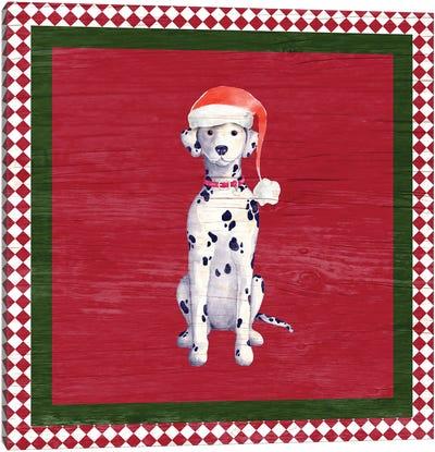 Santa's Little Helper I Canvas Art Print
