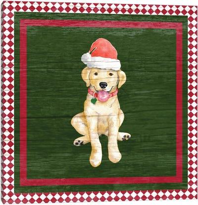 Santa's Little Helper II Canvas Art Print
