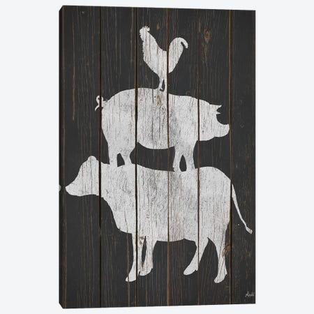 Farm Stack Canvas Print #MEZ10} by Andi Metz Art Print