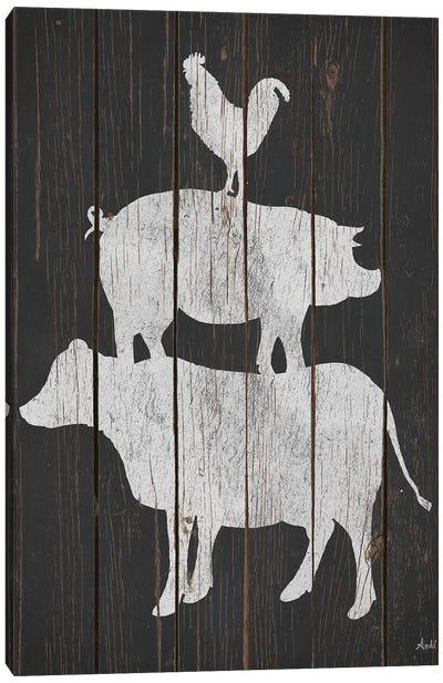 Farm Stack Canvas Art Print
