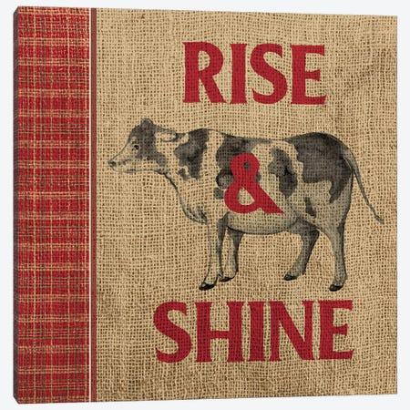 Rise & Shine Farm Fresh II Canvas Print #MEZ15} by Andi Metz Canvas Artwork
