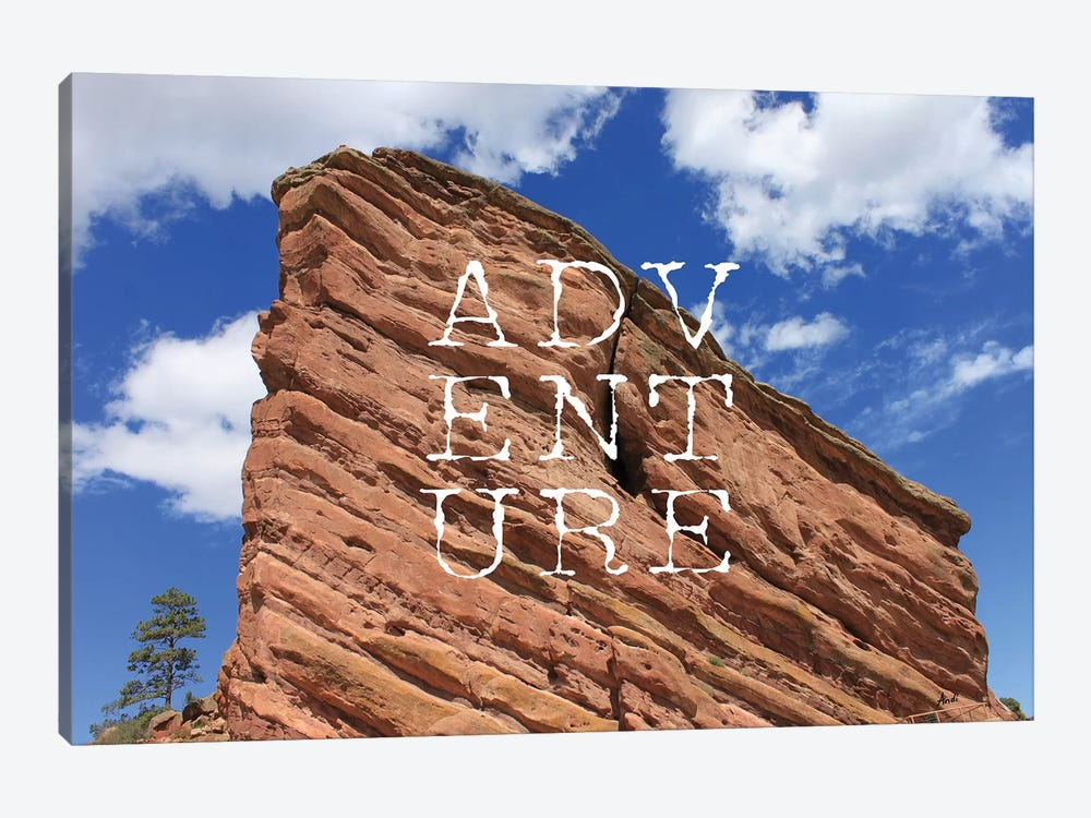 Adventure by Andi Metz 1-piece Canvas Print