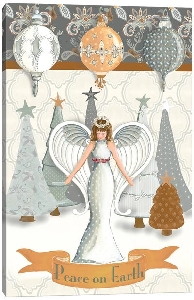 Angel Wonderland Earth Canvas Art Print