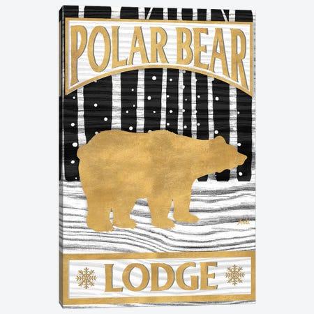 Winter Lodge Sign I Canvas Print #MEZ44} by Andi Metz Canvas Art Print